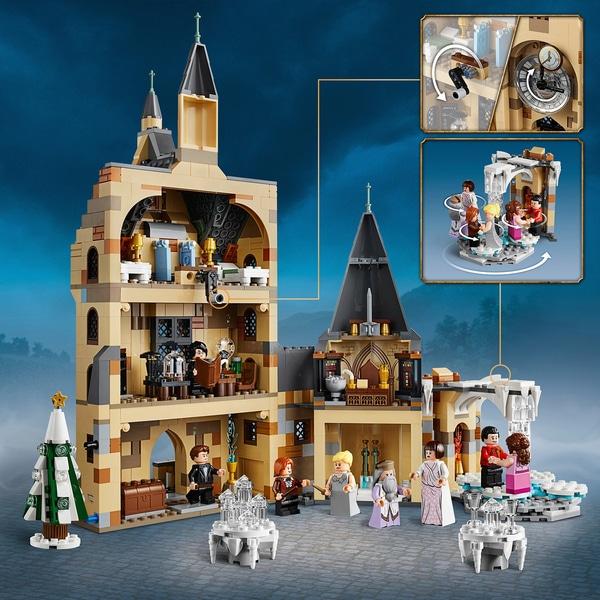 LEGO 75948 Harry Potter Hogwarts Clock Tower Toy now £66.99 @ Smyths