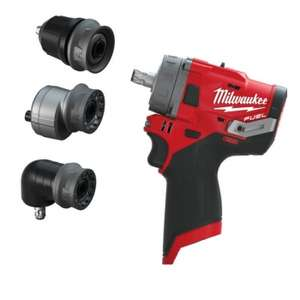 Milwaukee M12FPDXKIT-0 'FUEL GEN II' Percussion Drill With Removable Chuck £89.99 @ Powertoolmate