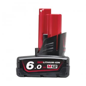 Milwaukee M12B6 12V 6.0Ah Li-Ion Battery - £49.99 @ Powertoolmate