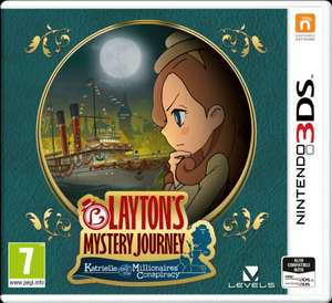 Layton's Mystery Journey Nintendo 3DS Game - £9.99 (free click & collect) @ Argos