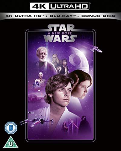 Star Wars Episode IV: A New Hope 4k UHD [2020] [Region Free] £14.99 @ Amazon