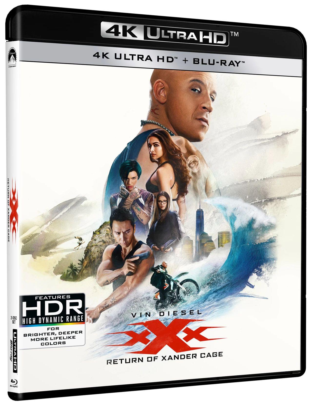 Xxx The Return Of Xander Cage 4K Uhd - Blu-ray - £3.45 @ Rarewaves