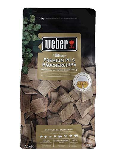 Weber Bitburger Premium Pils Smoking Chips 0.7 kg £6.19 Prime (+£4.49 NP) (UK Mainland) Sold by Amazon EU @ Amazon