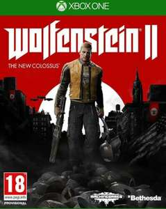 Wolfenstein ll The New Colossus Xbox One Game, £7.99 (Free click and collect) at Argos