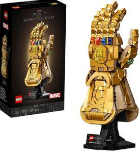 LEGO Marvel 76191 Infinity Gauntlet Thanos Set For Adults £49.99 with code at Hamleys