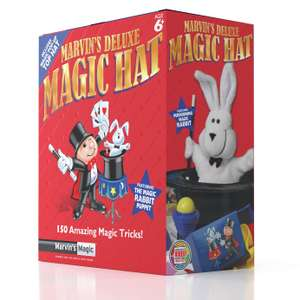 Marvin's Deluxe Magic Hat - with a Performing Rabbit Puppet now £5 (Click & Collect) @ Argos