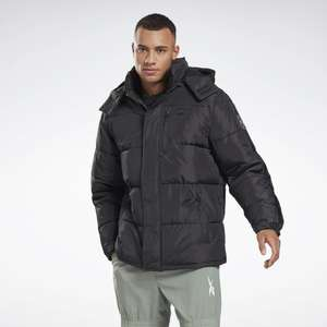 Reebok Mens Hooded Puffer Jacket (M-2XL / 3 colours), £31.87 delivered with code at Reebok