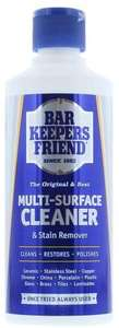 Home Care Bar Keepers Friend Multi Surface Household Cleaner & Stain Remover Powder, 250 g £1.49 (Prime) + £4.49 (non Prime) at Amazon