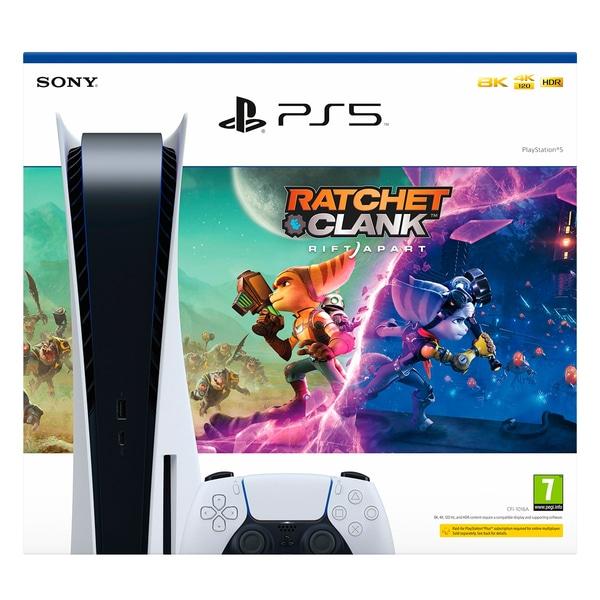 Ratchet & Clank Rift Apart PlayStation 5 Console Bundle (disc) £509.99 Free Click & Collect @ Smyths Toys