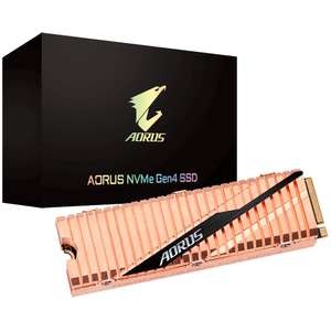 Gigabyte AORUS NVMe Gen4 PCIe M.2 SSD 2TB Internal Solid State Drive - £284.98 Delivered @ AWD-IT