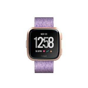 Fitbit Versa Special Edition Health & Fitness Smartwatch with Heart Rate, Music & Swim Tracking, Lavender - £99.99 @ Amazon