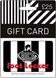15% off Footlocker Gift Cards - from £12.75 for £15 - AMAZON PRIME MEMBERS ONLY