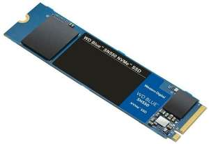 1TB - WD Blue SN550 High-Performance M.2 Pcie NVMe SSD Up to 2400MB/s Read, 1950MB/s Write - £75.99 @ Box_deals / eBay (UK Mainland)