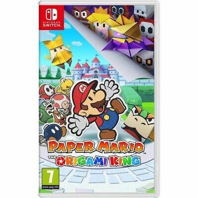 Nintendo Switch Paper Mario: The Origami King - £20 with code @ AO via eBay (UK Mainland)
