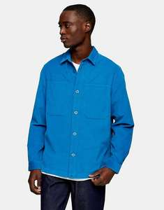 Topman micro cord overshirt in blue for £22.16 delivered (£18.16 with Asos Premier Delivery) using code @ Asos