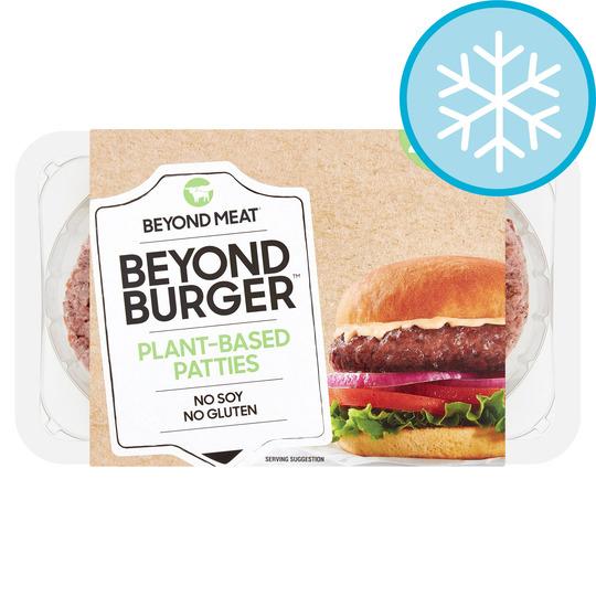 Beyond Meat Beyond Burger Plant Based Burger - £3 Tesco Clubcard price