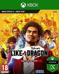 [Xbox One] Yakuza: Like a Dragon - Day Ichi Edition - £15.88 with code delivered @ Boss_deals / eBay