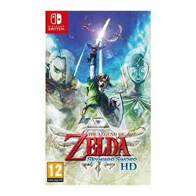 The Legend of Zelda: Skyward Sword HD + Steelbook + Keyring (Nintendo Switch) £39.96 - TheGameCollectionOutlet eBay