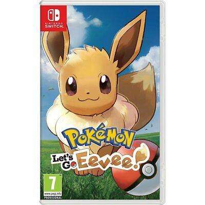Nintendo Switch Pokemon: Let's Go! Eevee! £30.40 - AO/eBay (UK mainland)