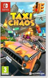 Taxi Chaos (Nintendo Switch) £13.59 Delivered using code @ eBay / boss_deals