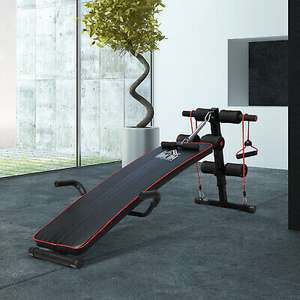 HOMCOM Adjustable AB Workout Sit Up Core Bench £31.99 with code Delivered ( Mainland UK) from outsunny/ eBay