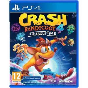 Crash Bandicoot 4: It's About Time (PS4 Inc. PS5 Upgrade) £28 / (Xbox One / Series X) £26.40 Delivered using code (UK Mainland) @ AO eBay