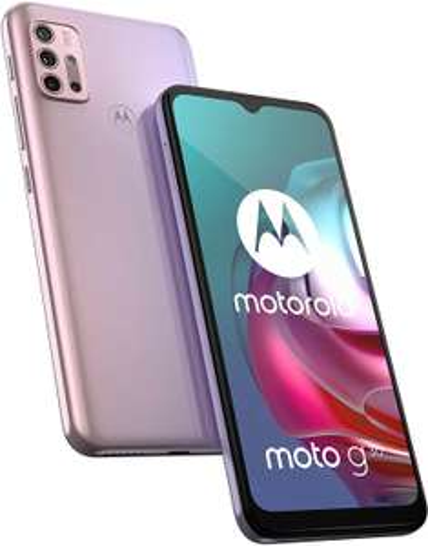 "Motorola Moto G30 6.5"" 4GB/128GB Dual SIM Android 11 Pastel Sky £127.19 / Dark Pearl £135.99 delivered with code @ technolec_uk / ebay"