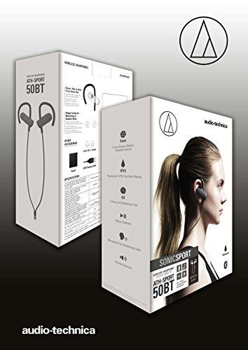 Audio-Technica ATH-SPORT50BT Wireless In-Ear Headphones £6.62 Amazon Prime (+£4.49 Non Prime)