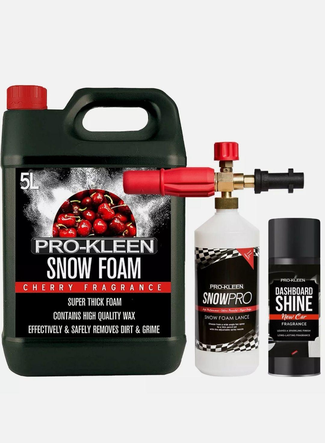 Pro-Kleen snowfoam lance karcher with 5L snowfoam solution £24.76 (UK mainland) @ hsd-online / eBay