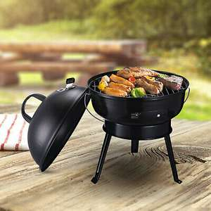 Outsunny Portable Tripod Charcoal BBQ Grill with Air Vent & Anti Scald Handle £27.19 delivered using code (UK mainland) @ eBay / Outsunny