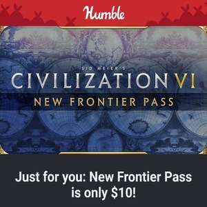 Sid Meier's Civilization VI New Frontier Pass £11.73 at humble bundle - Selected emails invite only offer