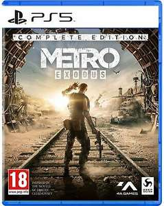 Metro Exodus Complete Edition (PS5) Pre Order Out 18th June £26.28 using code @ Boss Deals / Ebay (UK Mainland)