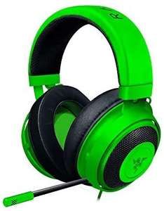 Razer Kraken - Wired Gaming Headset for Multiplatform Gaming for PC, PS4, Xbox On3.5 mm Cable with Line Controls - Green £44.55 at Amazon