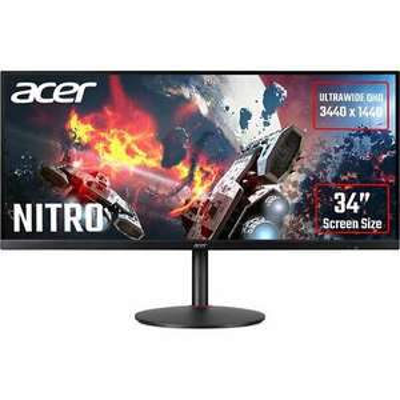 Acer Nitro XV340CKP UltraWide Quad HD 144 Hz 34 Inches Monitor Black £439 using code (UK Mainland) @ AO / Ebay