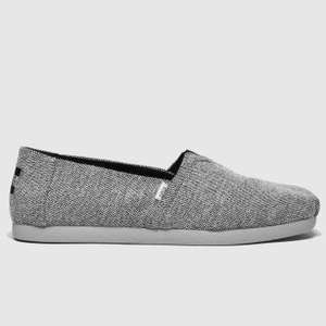 TOMS black alpargata 3.0 repreve shoes size 11 - £16.99 + free Click and Collect at Schuh