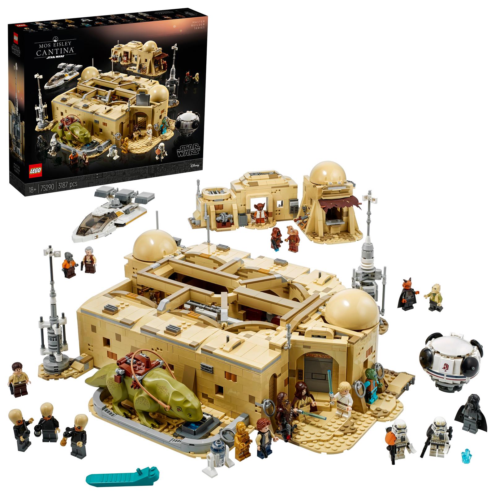 15% off Selected LEGO @ shopDisney e.g LEGO Star Wars Mos Eisley Cantina Set 75290 £271.99 / LEGO Star Wars Destroyer Set 75252 £549.99