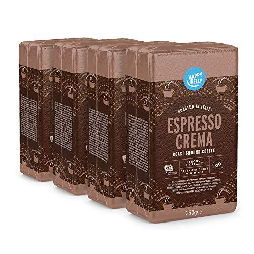 """1kg Happy Belly Ground Coffee """"Espresso Crema"""" (4 x 250g) £6.37 Amazon Prime (+£4.49 Non Prime)"""