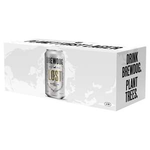 Brewdog Lost Planet First Lager (30x440 ml Cans) £21 @ Asda