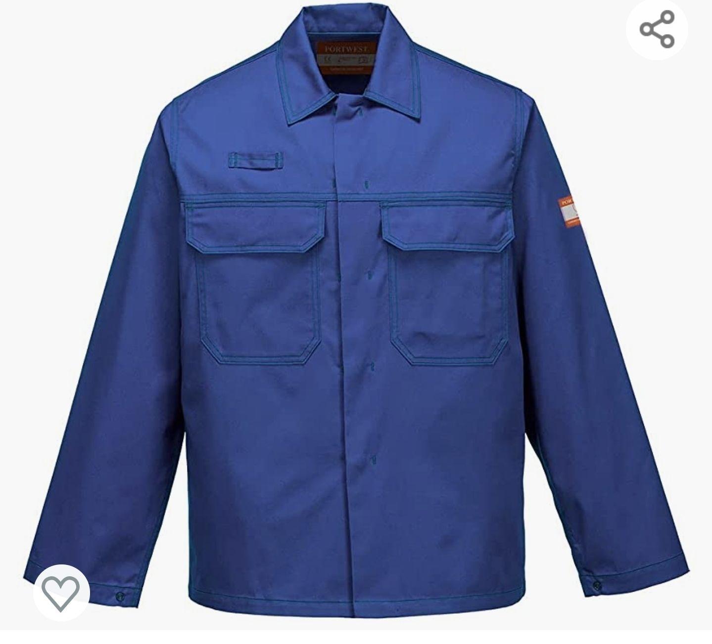Chemical resistant Jacket size large £5.22 (+£4.49 non-prime) @ Amazon
