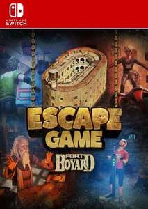 Escape Game Fort Boyard (Nintendo Switch) - £8.49 @ CDKeys