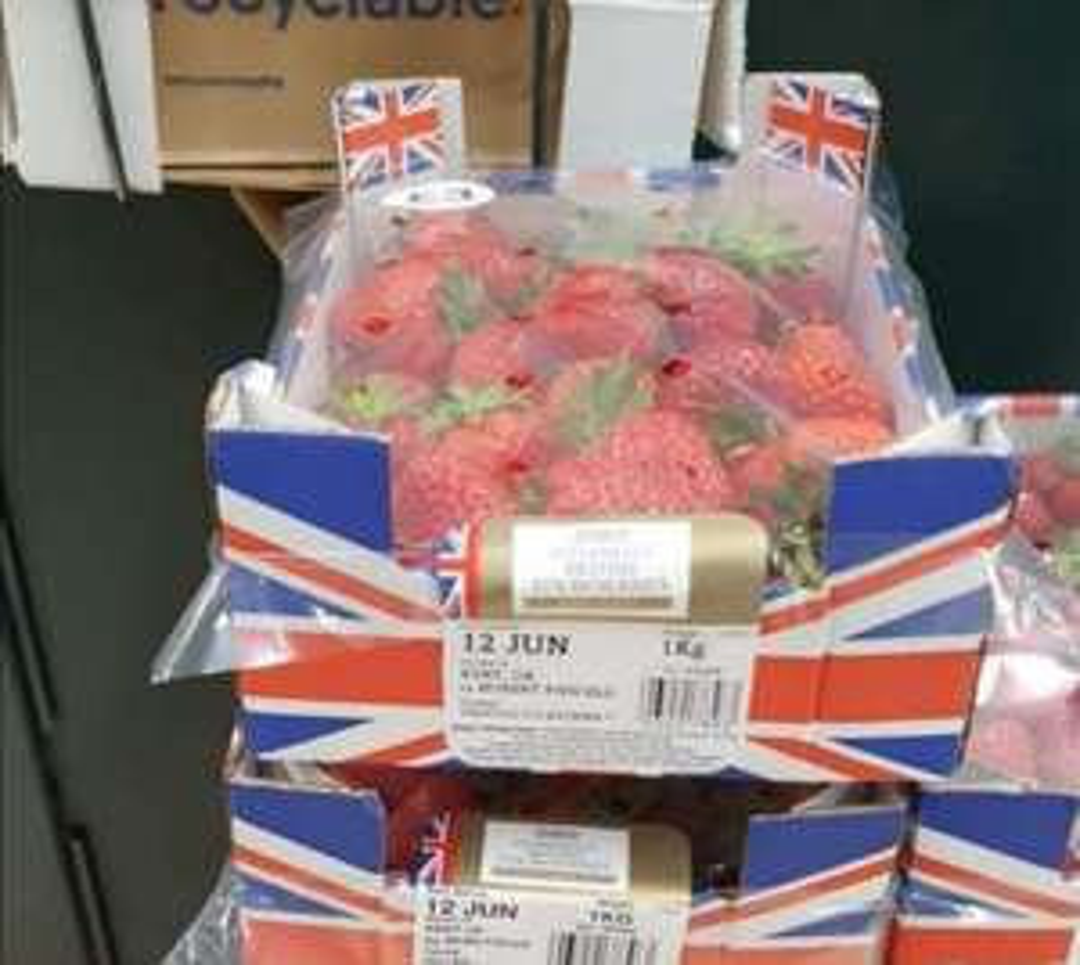 1kg British Strawberries £3 instore @ Tesco