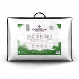 Slumberdown CBD Infused Pillow £15.99 with Voucher Plus Free Delivery @ Sleepseeker