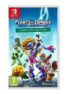 [Nintendo Switch] Plants vs Zombies: Battle for Neighborville Complete Edition - £15.99 with code delivered @ Boss_deals / ebay