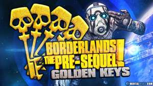 10 Golden Keys for Borderlands The Pre Sequel - all formats Free @ Gearbox