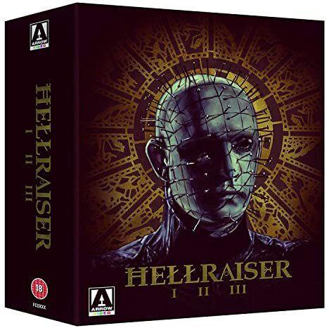 Hellraiser Trilogy Boxset (Arrow Video) blu-ray - £14.99 (+£2.99 non-prime) @ Amazon
