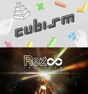 Oculus VR Duo Pack - Get into the Zone: Cubism & Rez Infinite £15.99 @ Oculus