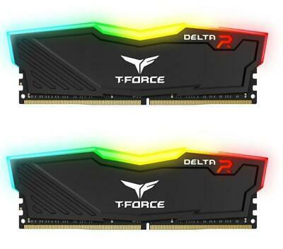 TeamGroup T-Force Delta RGB 16GB (2x 8GB) 3200MHz DDR4 RAM (PC4-25600) £67.99/3600MHz - £71.99 (32GB - £123.99) Using Code @ Box_deal/eBay