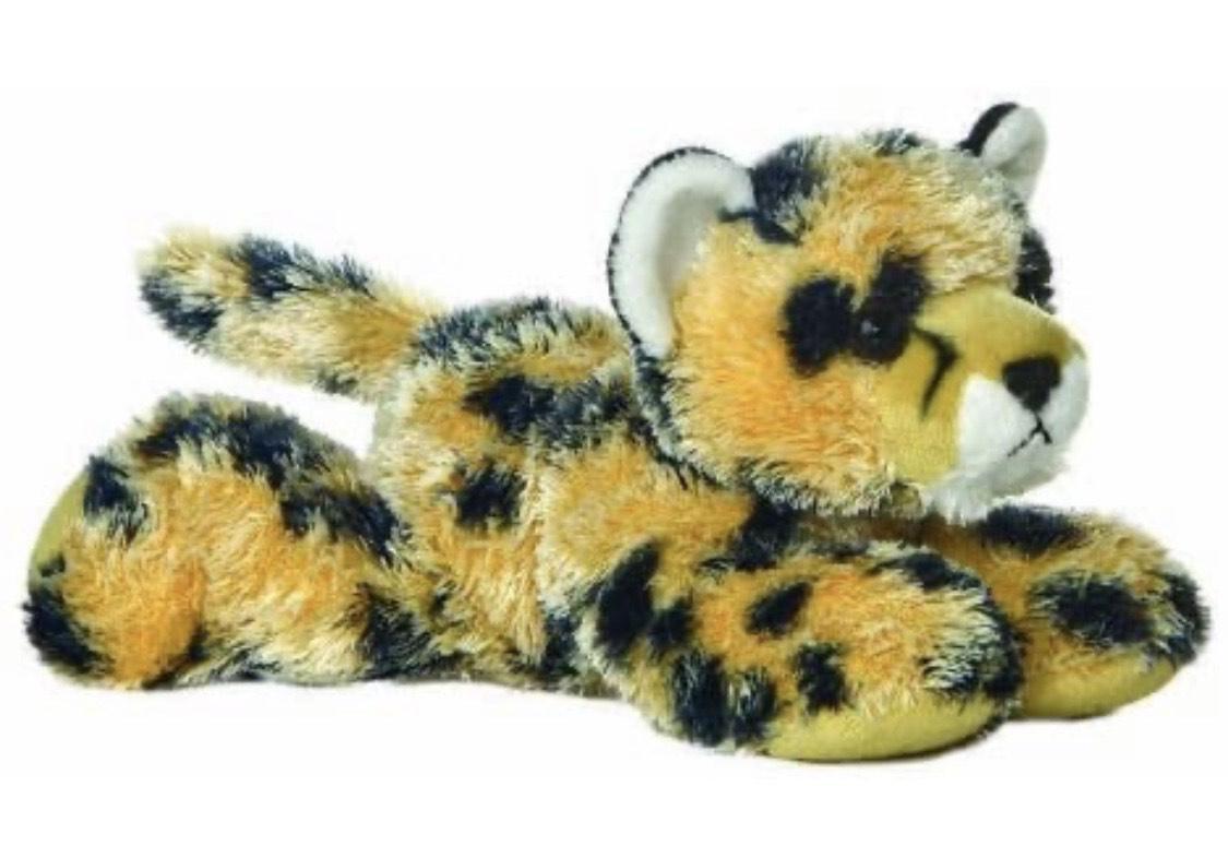 """Cheetah Mini Flopsie 8"""" Soft Toy £3.67 (+£4.49 Non Prime) @ Amazon"""
