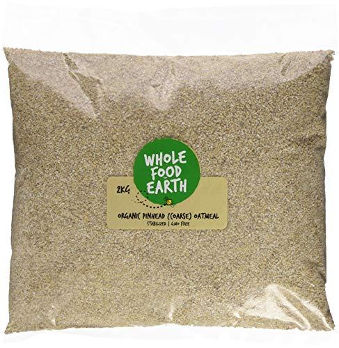 Wholefood Earth Organic Oatmeal Coarse 2 kg - £2.32 (+£4.49 Non-Prime) @ Amazon