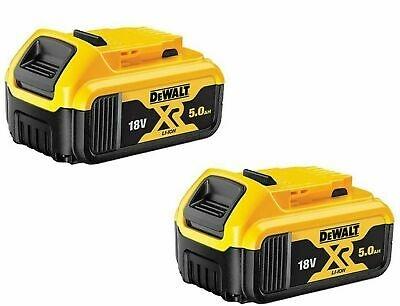 2x 5ah Dewalt batteries for £99.98 @ PowerToolMate
